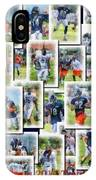 Chicago Bears Training Camp 2014 Collage Pa 01 IPhone Case