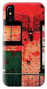 Chicago Brick Facade 21st. Century IPhone Case