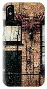 Chicago Brick Facade Grunge IPhone Case