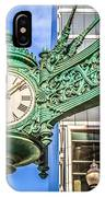 Chicago Clock Hdr Photo IPhone Case