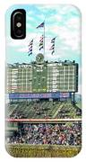 Chicago Cubs Scoreboard 01 IPhone Case