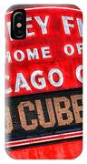 Chicago Cubs Wrigley Field IPhone Case