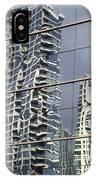 Chicago Facade Reflections IPhone Case