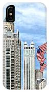 Chicago - Flags Along Michigan Avenue IPhone Case