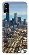 Chicago Highways 06 IPhone Case