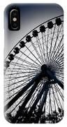 Chicago Navy Pier Ferris Wheel IPhone Case