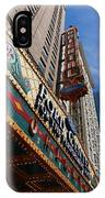 Chicago - Oriental Theatre IPhone Case