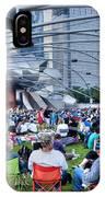 Chicago Outdoor Concert IPhone Case