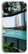 Chicago River Scene IPhone Case