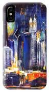 Chicago Skyline At Night IPhone Case