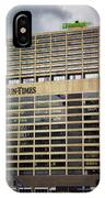 Chicago Sun Times Facade After The Storm IPhone Case