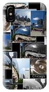 Chicago The Bean Collage IPhone Case