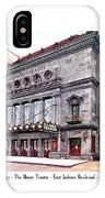 Chicago - The Illinois Theatre - East Jackson Boulevard - 1910 IPhone Case