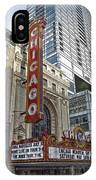 Chicago Theater Facade Northside IPhone Case