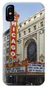 Chicago Theater Facade Southside IPhone Case