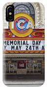 Chicago Theater Signage IPhone Case