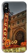 Chicago Theatre Hdr IPhone Case