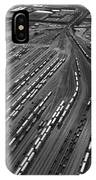 Chicago Transportation 02 Black And White IPhone Case