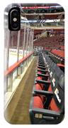 Chicago United Center Before The Gates Open Blackhawk Seat One IPhone Case