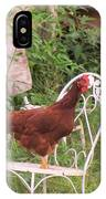 Chicken In The Chair IPhone Case