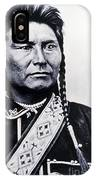 Chief Joseph Nez Perce Leader IPhone Case