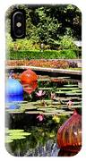 Chihuly Ball Lily Pond IPhone Case