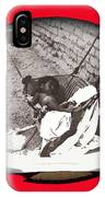 Child Tohono O'odham Hammock #2  Unknown Location And Date - 2013. IPhone Case