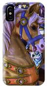 Childhood Carrousel Ride IPhone Case