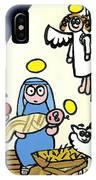 Children's School Nativity Play IPhone Case