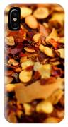 Chili Pepper Flakes IPhone Case