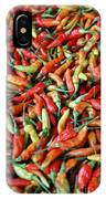 Chilli Background IPhone Case