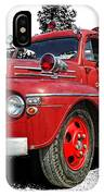 Chilliwack Fire- Mercury Firetruck IPhone Case