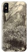 Chimney Rock At Hickory-nut Gap 1872 Engraving IPhone Case
