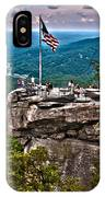 Chimney Rock At Lake Lure IPhone Case