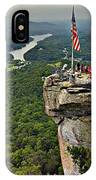 Chimney Rock Overlook IPhone Case