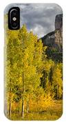 Chimney Rock San Juan Nf Colorado Img 9722 IPhone Case
