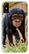 Chimpanzee IPhone X Case