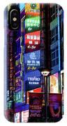 China, Shanghai, Nanjing Road, The Neon IPhone Case
