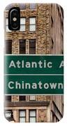 Chinatown Boston IPhone Case
