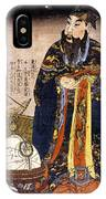 Chinese Astronomer, 1675 IPhone Case