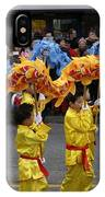 Chinese Dragon Dancers IPhone Case