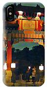 Chinese Entrance Arch IPhone Case