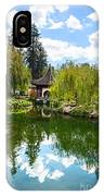 Chinese Garden And Sky IPhone Case