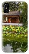 Chinese Garden Breeze IPhone Case