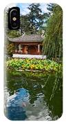 Chinese Garden Dream IPhone Case
