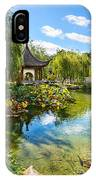 Chinese Garden Lake IPhone Case