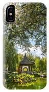 Chinese Garden Sun IPhone Case