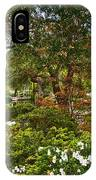 Chinese Garden View IPhone Case