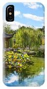 Chinese Garden Vista IPhone Case