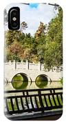 Chinese Garden Window IPhone Case